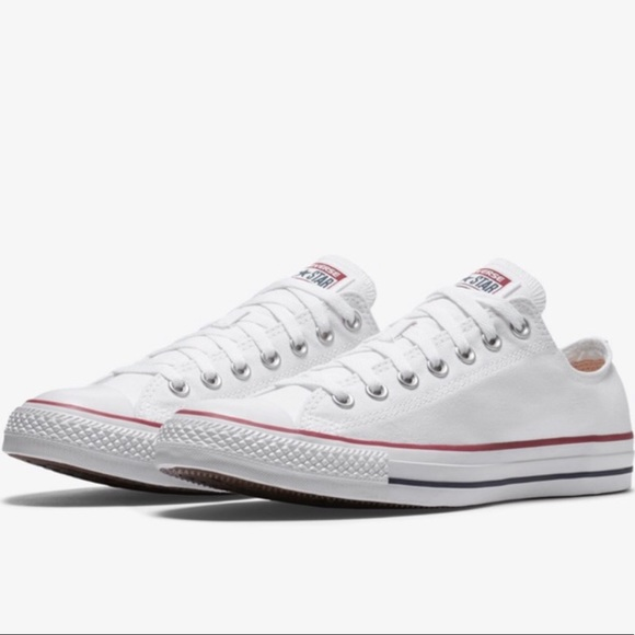 converse low top white